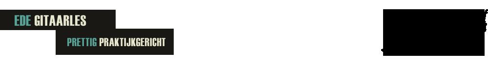 Ede Gitaarles Logo